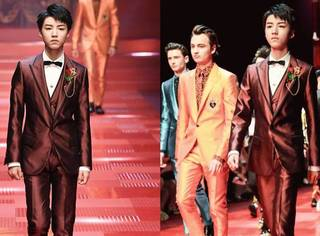 王俊凯为Dolce & Gabbana走秀,综合看来到底有没有赢?