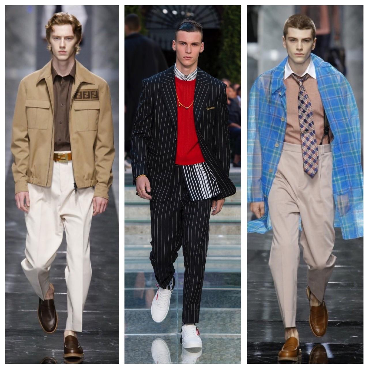 米兰男装周|D&G、Versace、FENDI更轻松,更自在,依旧浪漫!