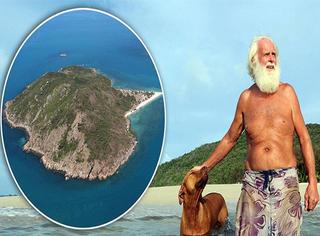 现实版鲁宾逊,他在孤岛上生活了20年