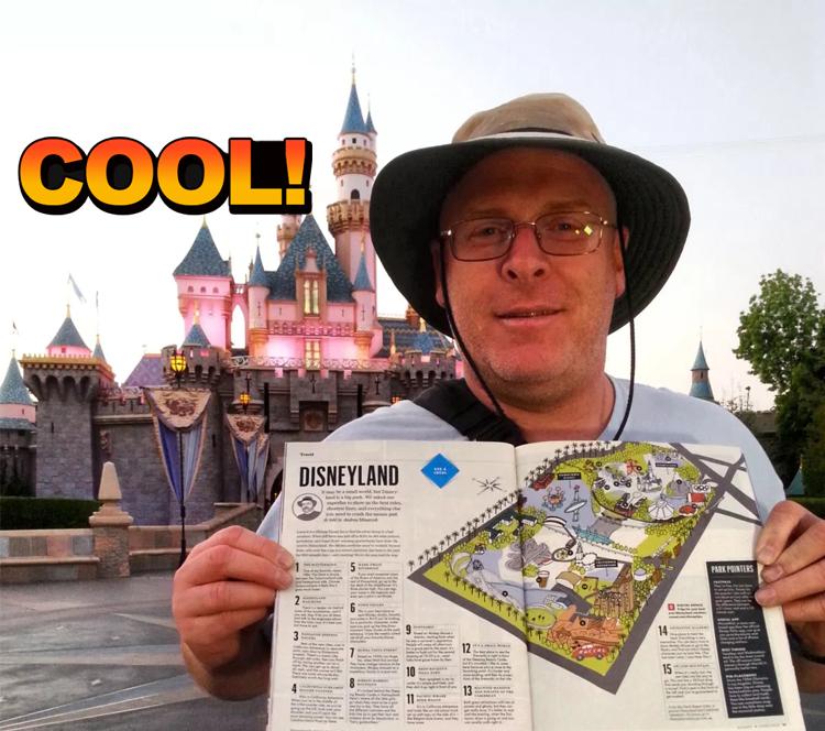 退伍大叔每天都去迪士尼乐园,一去就坚持了5年多