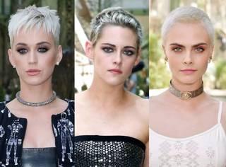 """三位""""铁T""""的寸头和妆容都撞了,但妆容比寸头都难学。。【文末有惊喜】"""
