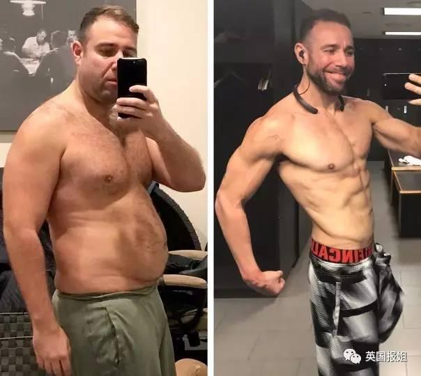 减肥还是缺动力!小哥为50万美元赌注瘦身成功,人生完美逆袭!