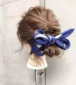 清爽又甜美的盘发,99%的女生都不会