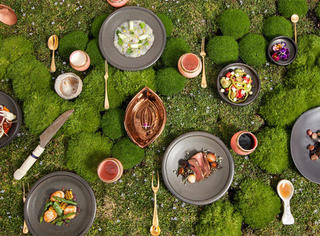 在塔斯马尼亚,崇尚自然的餐馆,本身就是一道风景线
