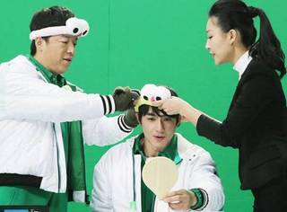 黄渤和林更新开了化妆课堂,这甜蜜的cp感是怎么回事?