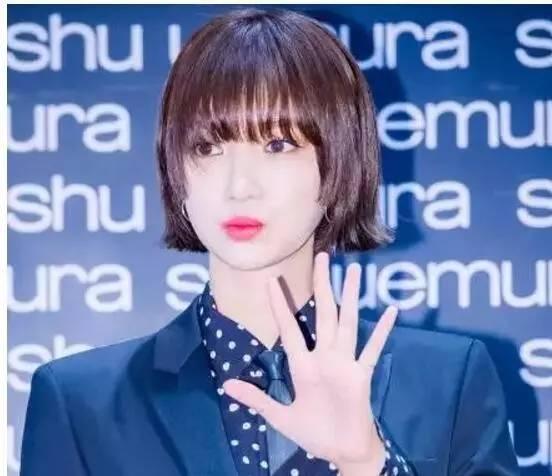 """短发女神""""高俊熙""""现在又换发型了,你们觉得怎么样?"""