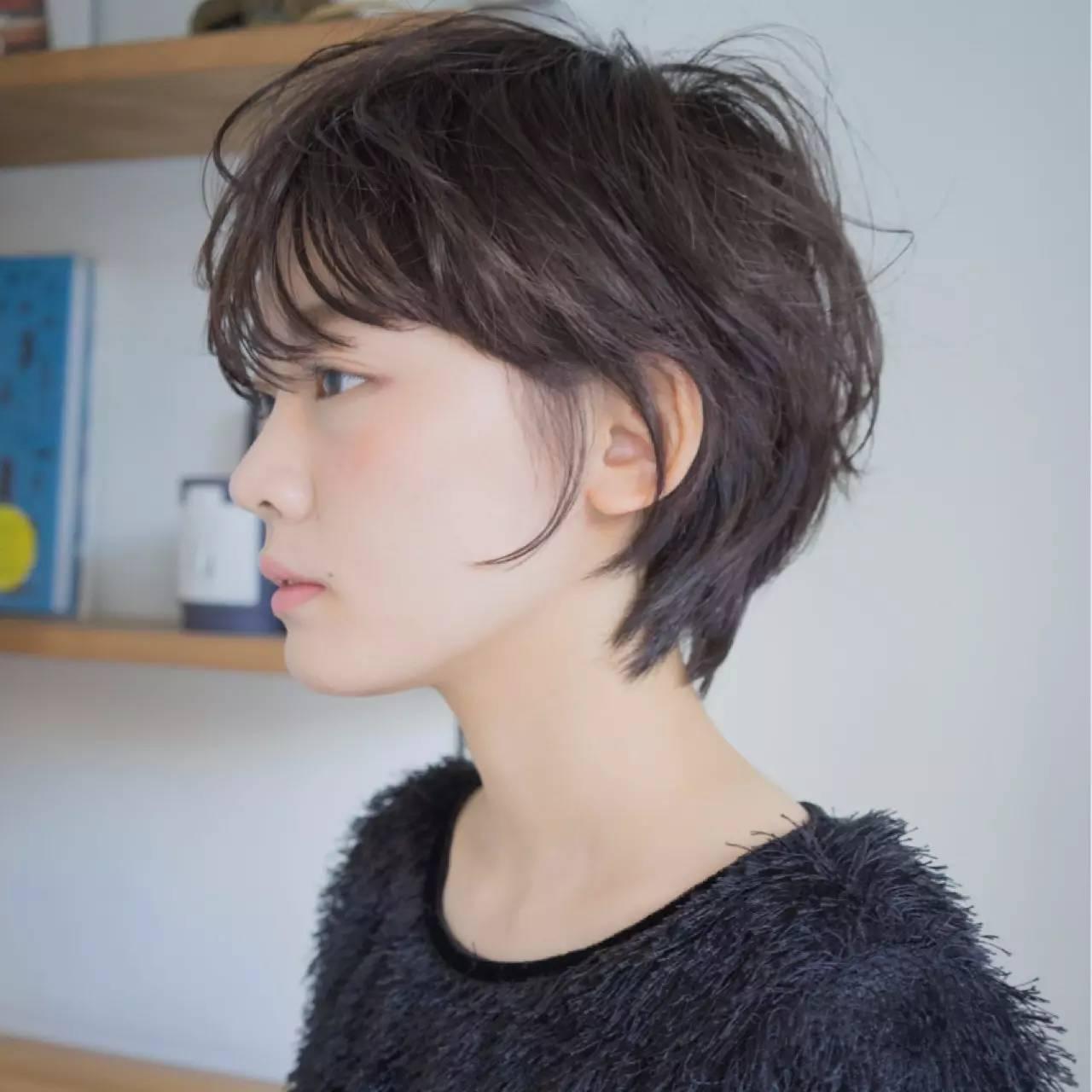 这15款日系露耳短发,剪了就再也不想留长!