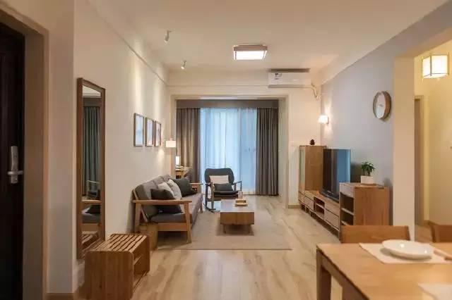 日式情调榻榻米, 浅色实木材质打造MUJI气质美宅