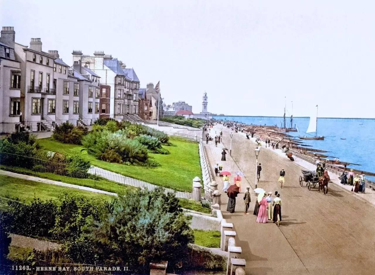 十九世纪末 英国街景