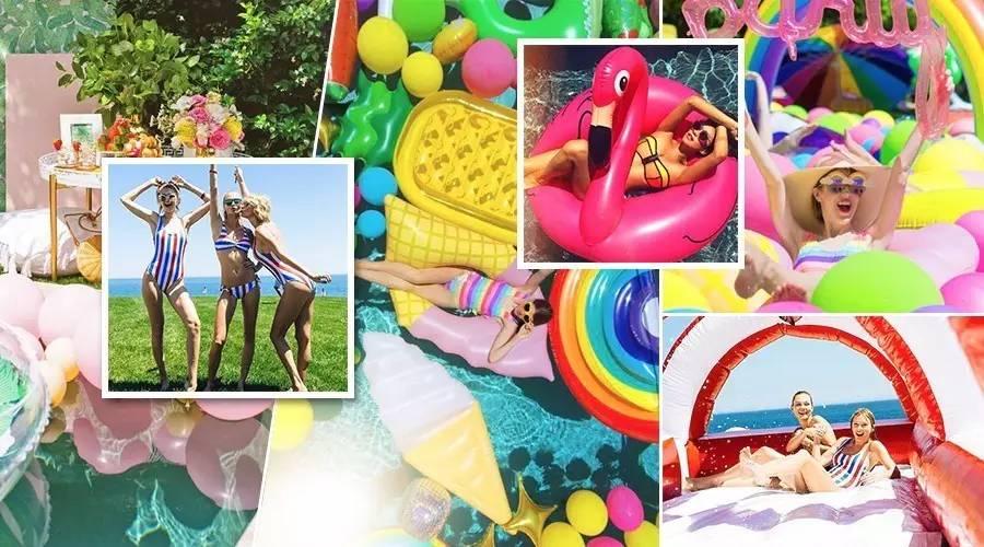 夏日撩男神的最后机会,就是举办一场时髦泳池派对!