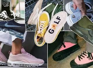 送上最新爆款球鞋清单,快去下单当网红吧!