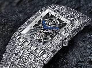 你愿意花多少钱给老婆买表?向华强说1亿6千万