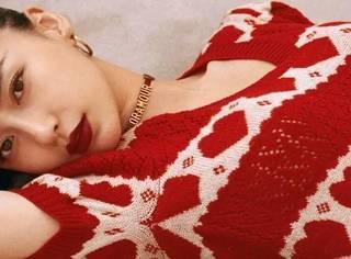 Angelababy自爆初吻在上海!她的恋爱秘籍就是穿红色系