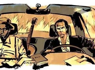 这本Nick Cave的漫画,可以有