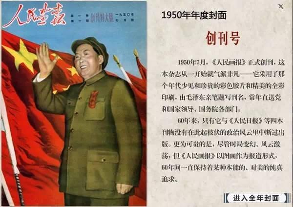 《人民画报》60年封面摄影震撼回顾!!!太珍贵了,一定要收藏!