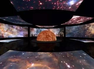 "NASA来啦!年度大展""星球奇境""带你360°穿越太阳系!"
