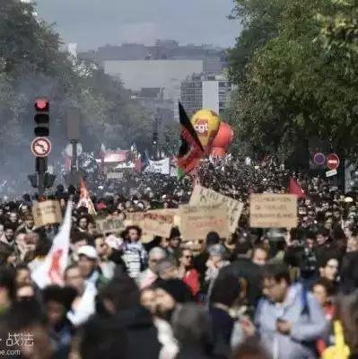 """法国开始新一轮反对劳动法改革游行:改革是""""社会性摧毁""""?"""