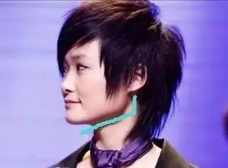 李宇春、佟丽娅同样是大角度下颌角,为啥看起来脸型完全不一样?