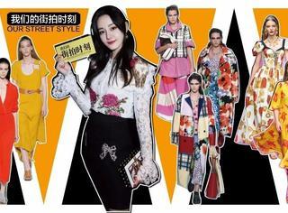 迪丽热巴在Dolce&GabbanaT台上化身弗拉明戈舞后,Ferragamo和Marni却钟爱中国风
