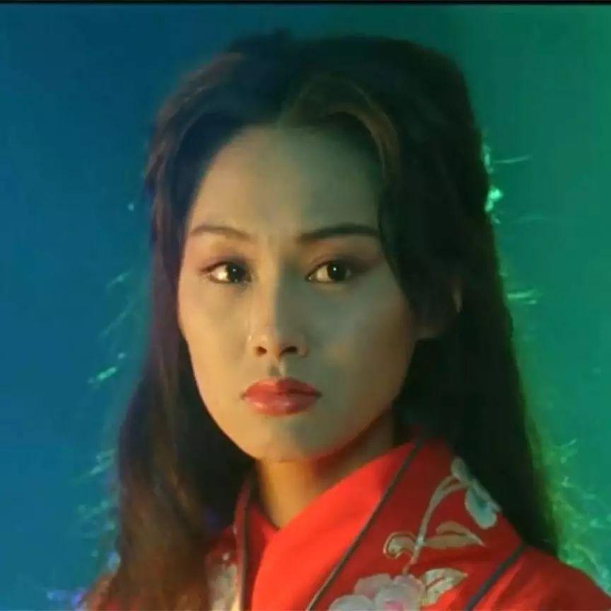红衣女神|她是最美的紫霞仙子,到今天还是美得发光