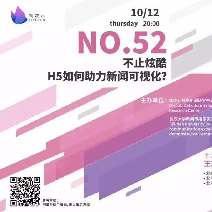 镝次元第52期沙龙整理:H5如何助力新闻可视化(上)