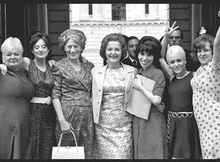 她们面见英国大臣:男女同工同酬,否则没商量!