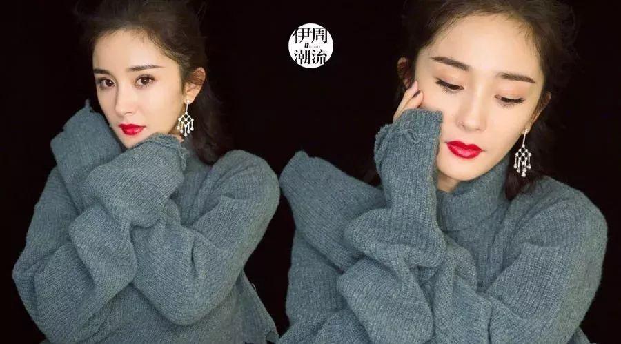 杨幂周冬雨倪妮都爱穿这几个牌子的毛衣...