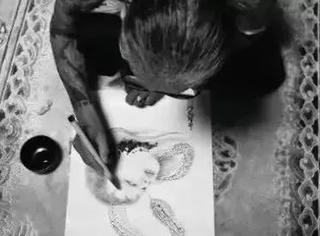 日本纹身师三代目雕佑西Yoshihito Nakano原画手稿